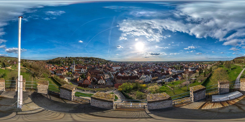 Final retuschiertes Panorama